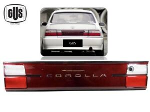 Fit 93 97 Toyota Corolla Trunk Lights Clear And Red Set 1 Piece 1993 1997