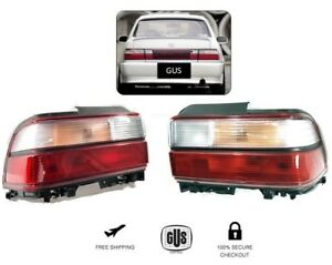 Toyota Corolla Tail Lights Clear And Red Rear Year 1993 1997