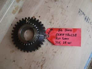 Ford 3000 Tractor Used Trans Reverse Gear 32t 28 Spl Ref C5nn7k013e