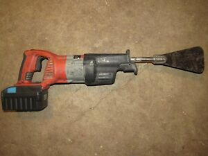 Auto Glass Windshield Removal Cut Out Tool Extractor Milwaukee 28 Volt Cordless