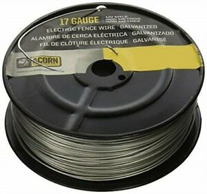 Acorn International Efw1714 1 4 mile 17 gauge Galvanized Fence Wire