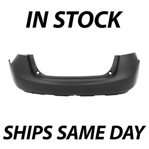 New Primered Rear Bumper Cover W Textured Lower Area For 2008 2015 Nissan Rogue