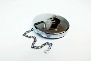 Polished Stainless Steel Fuel Cap For A Lincoln Welder Bw545 pol