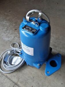 Goulds Water Technology Ws0512bf Submersible Sewage Pump New
