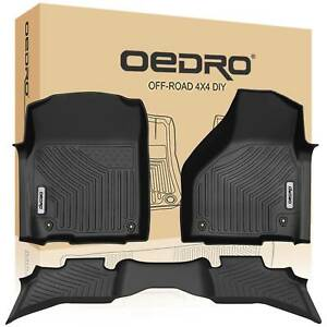 Oedro Ram Floor Mats Liners 1500 Quad Cab Fit For 2013 2018 Dodge Floor Liner