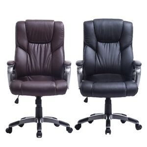 Ergonomic Mesh High Back Executive Computer Office Chair Black With Headrest Oy
