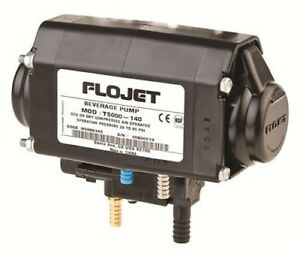 Flojet Syrup Pump Set Of 16 Plus Co2 Gauge 100lb Clock And Free Shipping