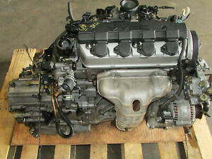 Jdm 2001 2002 2003 2004 2005 Honda Civic 1 7l D17a Vtec Engine Auto Transmission