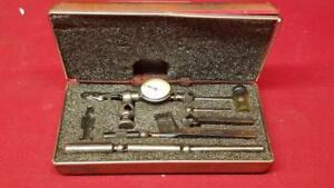 Starrett No 711 Last Word Dial Test Indicator With Original Case ss1045215