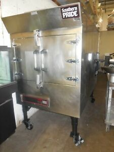 Used Southbend spx300 Gas fire Wood Burning Rotisserie Smoker bbq Smoker