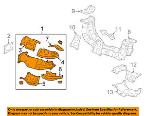 Subaru Oem 14 16 Forester 2 0l H4 Exhaust System Exhaust Pipe 44612aa771