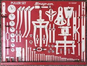 Partial Snap On Puller Set Cj1000f Board Some Parts