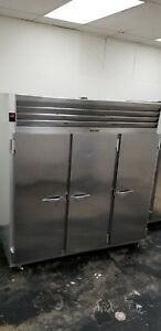 Traulsen 3 Door Commercial Freezer Model G31310 Silver