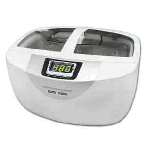 110v 2 5l Ultrasonic Cleaning Machine Glasses Jewelry Vegetable Fruit Cleaner