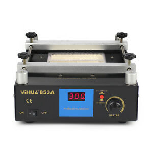 Yihua 853a Lead free Preheat Station For Bga Smt Motherboard Rework Repair 220v