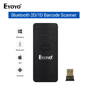 Eyoyo Ey 002s Bar Code Scanner Barcode Scanner 2 In 1 Handheld For Ios Android