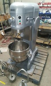 Hobart H 600 60 Qt Mixer Single Phase With Bowl And Attachments