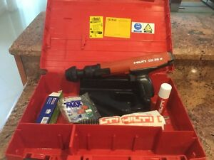 Hilti Dx36m Semi Automatic Powder Actuated Fastener Nail Gun In Case