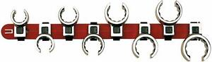Wright Tool 702 3 8 Drive Flare Nut Crowfoot Wrench Set 8 piece