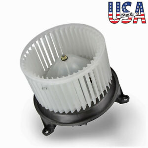 Ac Blower Motor W Fan Cage For Ford 2004 2005 2006 2007 2008 F 150 2c3z19834aa