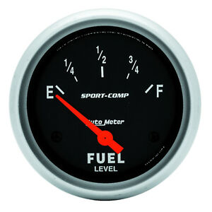 Autometer 3514 Sport comp Cams P Fuel Level Gauge 2 5 8 In Electrical