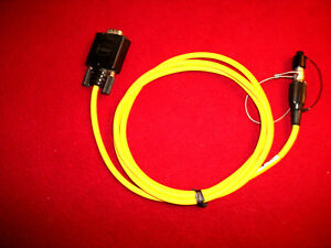 Trimble Gps Data Cable R8 R7 R6 5800 5700 Tsce Tsc1 9 Pin Sdb X7 Pin Size 0 Lemo