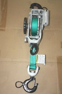 Little Mule Model 300 1250 2500 Web Strap Hoist