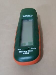 Extech Mo210 Pocket Size Moisture Meter With 2 in 1 Digital Lcd Readout