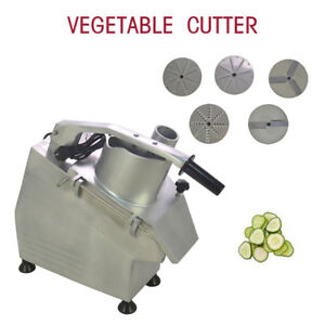 Hot 550w 110v Commercial Food Processor Vegetable Cutter Vegetable fruit Slicer