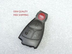 Oem Quality Replacement Remote Smart Key Shell Case For Mercedes Benz Keyless