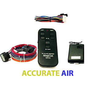 Accurate Air Controller Air Bag Suspension System Touch Pad Control