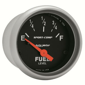 Autometer 3314 Sport Comp Fuel Level Gauge 2 1 16 In Electrical
