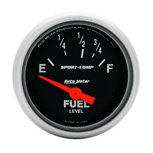 Autometer 3315 Sport comp Cams P Fuel Level Gauge 2 1 16 In Electrical