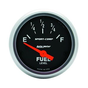 Autometer 3316 Sport comp Cams P Fuel Level Gauge 2 1 16 In Electrical