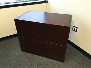 2dr 36 wx20 wx30 h Lateral File Cabinet By Hon Office Furn Model 10662 Wlock