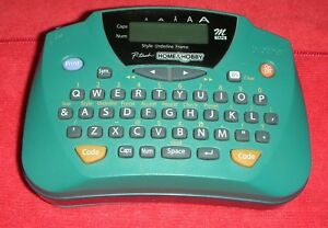Brother P touch Home Hobby Electronic Label Maker Model Pt 65