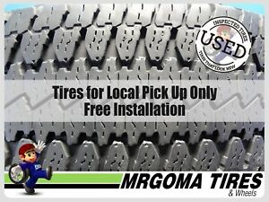 1 Goodyear Wrangler At S Lt275 65 20 Used Tire No Patch Ford 126 123s Lt2756520