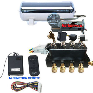 Accurate Air Switchspeed Air Bag Suspension Controller 480compressor