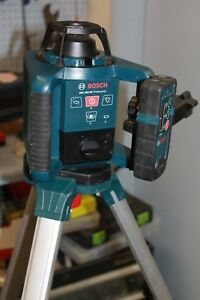 Bosch Professional Grl250hv Self leveling Rotary Laser free Shipping