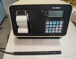 Climet Ci 8060 Enhanced Particle Counter With Probe