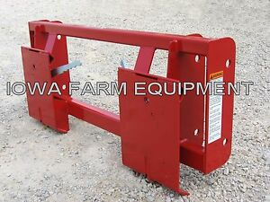 Massey Ferguson 232 236 832 838 932 1032 Fel To Skid Steer Quick Attach Adapter