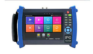 7 H 265 4k Ip Cctv Tester Monitor Cvbs Onvif Wifi Hdmi Input Cable Tracer Poe