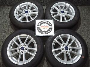 2018 Ford Focus 16 Factory Oe Wheels Tires Continental P215 55r16 2012 2018 7