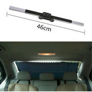 Car Retractable Rear Window Sun Shade Block Visor Folding Auto Windshield Cover