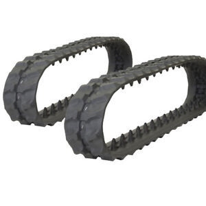 Pair Of Prowler Bobcat Mt52 Rubber Tracks 180x72x39 7