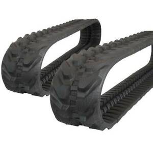 Pair Of Prowler Caterpillar 302 7dcr Rubber Tracks 300x52 5x82 12