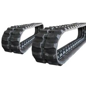 Pair Of Prowler Hanix S b12 Rubber Tracks 320x100x40 13