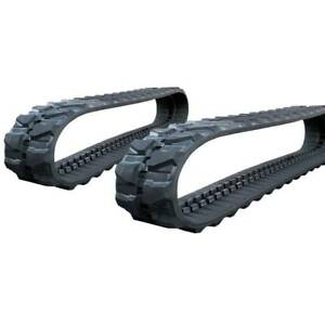 Pair Of Prowler Case Cx47 Rubber Tracks 400x72 5x74 16