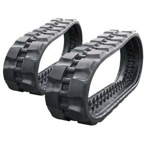 Pair Of Prowler Loegering Vts 54 Links Rd Tread Rubber Tracks 320x86x54 13
