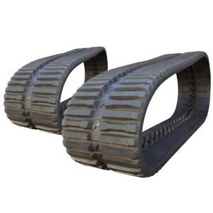 Pair Of Prowler Bobcat T300 At Tread Rubber Tracks 450x86x55 18
